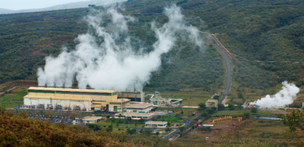 Olkaria II geothermal power plant in Kenya_622x300