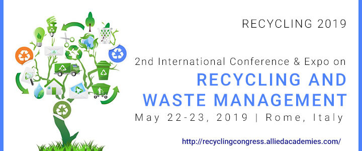 2nd International Conference and Expo on Recycling and Waste Management