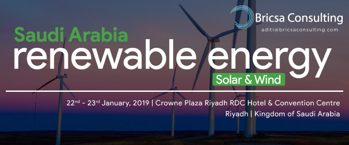 Saudi Arabia Renewable Energy - Solar & Wind 2019