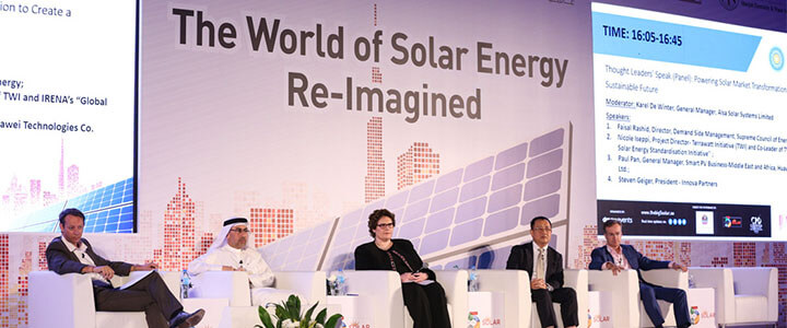 The World of Solar Energy Re-Imagined