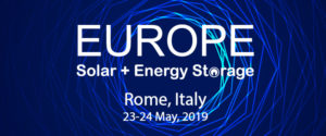 Europe Solar + Energy Storage Congress 2019