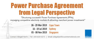 Power Purchase Agreement from Legal Perspective