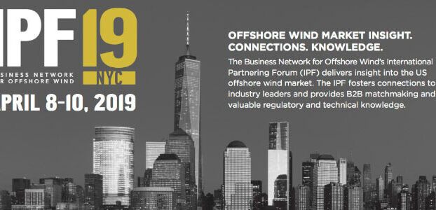 2019 International Offshore Wind Partnering Forum (IPF)