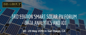 3rd Edition Smart Solar PV Forum – Data Analytics and IoT