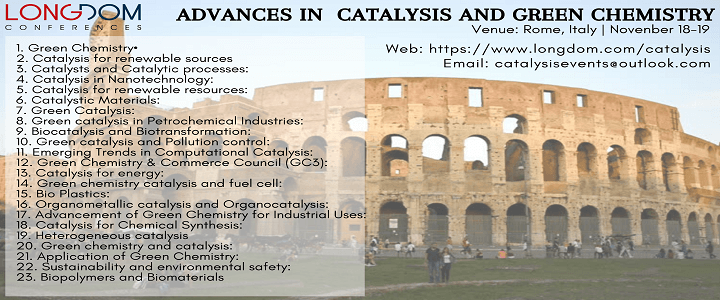 Advances in Catalysis and Green Chemistry