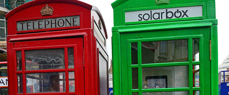 London-Telephone-Box-Green