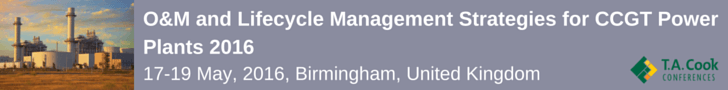 O&M and Lifecycle Management Strategies for CCGT Power Plants 2016
