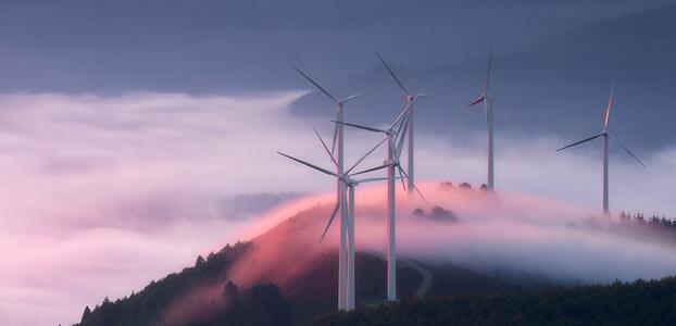 Hosting wind turbines