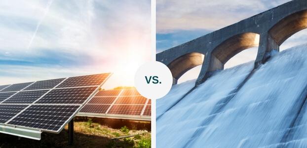 Hydropower Or Solar Power Green Journal