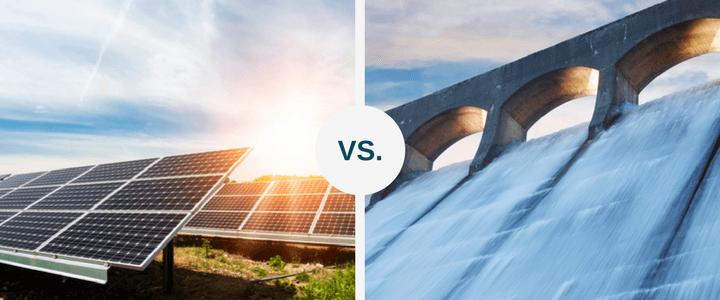 Hydropower or Solar Power
