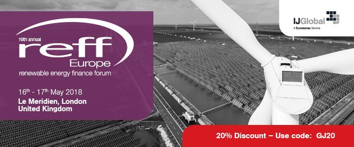 19th Annual Renewable Energy Finance Forum Reff Europe