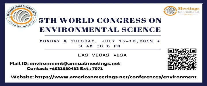 5th World Congress on Environmental Science