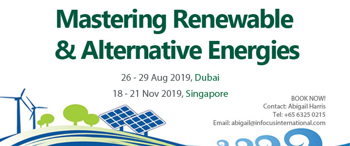 Mastering Renewable & Alternative Energies