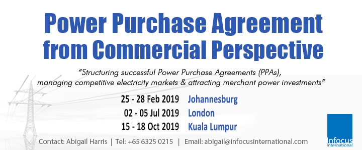 Power Purchase Agreement from Commercial Perspective