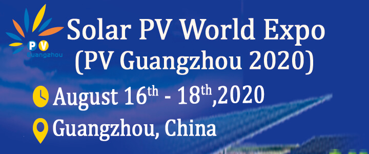 Solar PV World Expo 2020 (Formerly: PV Guangzhou)