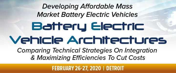 Battery Electric Vehicle Architectures (BEVA) Detroit Congress