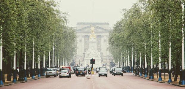 Cars on London Street