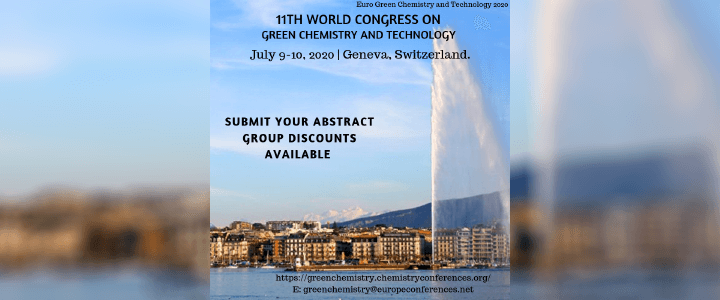 11th World Congress on Green Chemistry and Technology