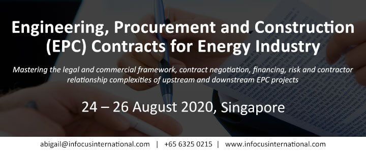 Engineering, Procurement and Construction (EPC) Contracts for Energy Industry